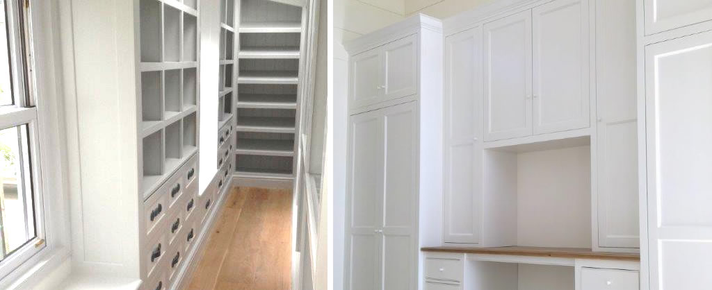 Bedroom Furniture - built-in cupboards