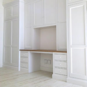 Built-in cupboards from Woodlove