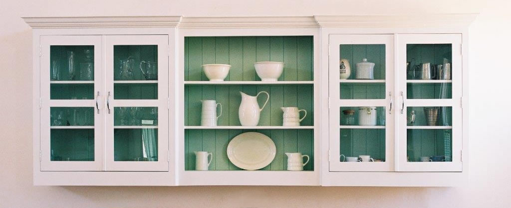 The Shaker Kitchen - cupboards